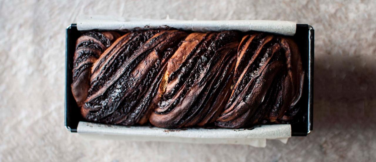 Chocolate Babka (400g)